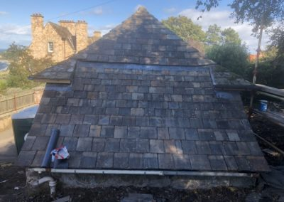 Corner House | Slate and gutter repairs