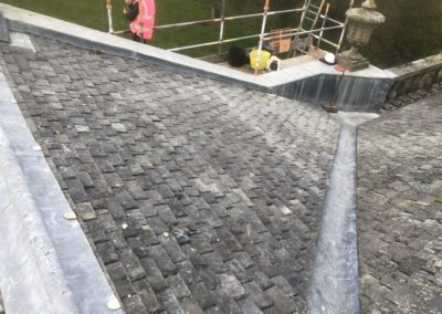 Auchenleck House | Strip, re-slate and lead works
